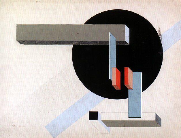 El Lissitzky Proun N 1925
