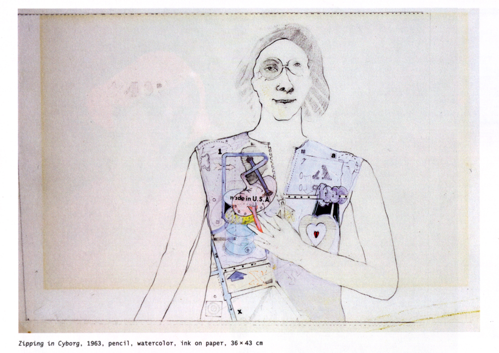 INTERFACE CRITIQUE Julia Heldt: LYNN HERSHMAN LEESON'S CYBORG DRAWINGS